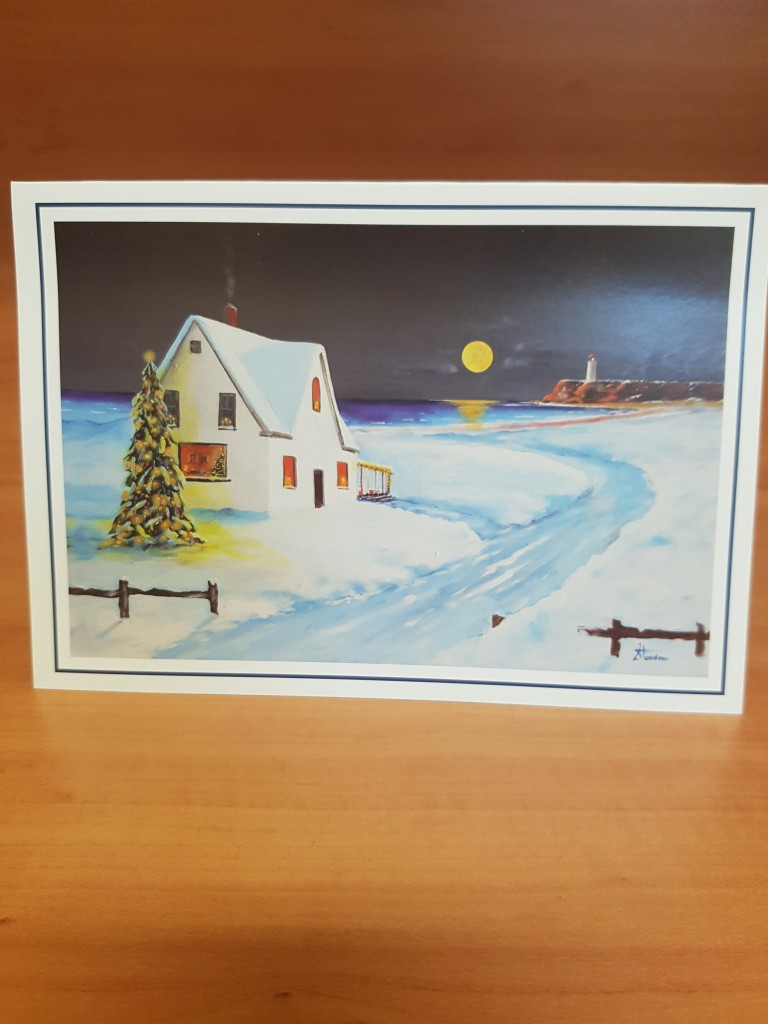 """Christmas Eve on the Bay"" - by Jim Steadman"